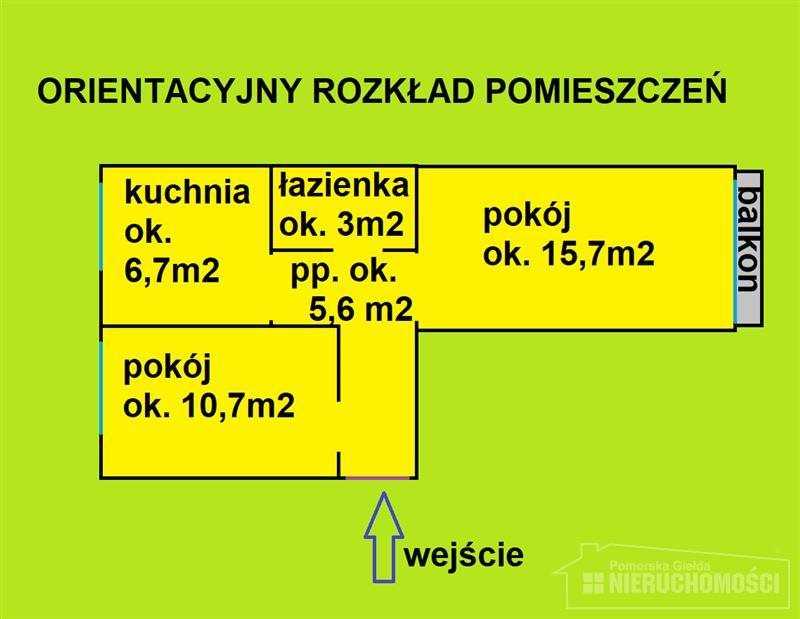 Mieszkanie dwupokojowe na sprzedaż Szczecinek, Przychodnia, Koszalińska  44m2 Foto 11