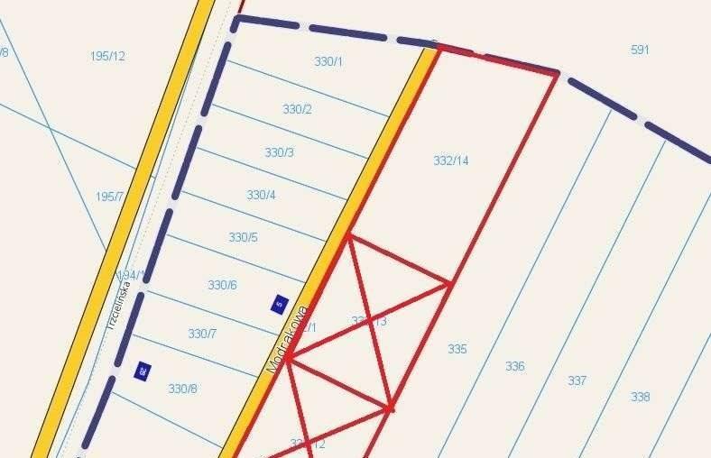 Działka budowlana na sprzedaż Dębienko  4865m2 Foto 6