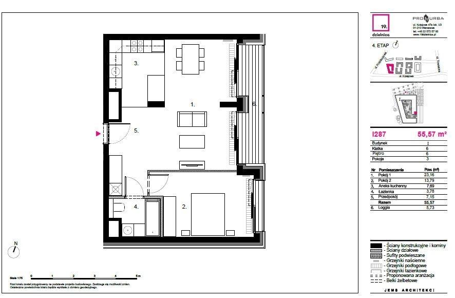 Mieszkanie dwupokojowe na sprzedaż Warszawa, Wola Czyste, Kolejowa  55m2 Foto 11