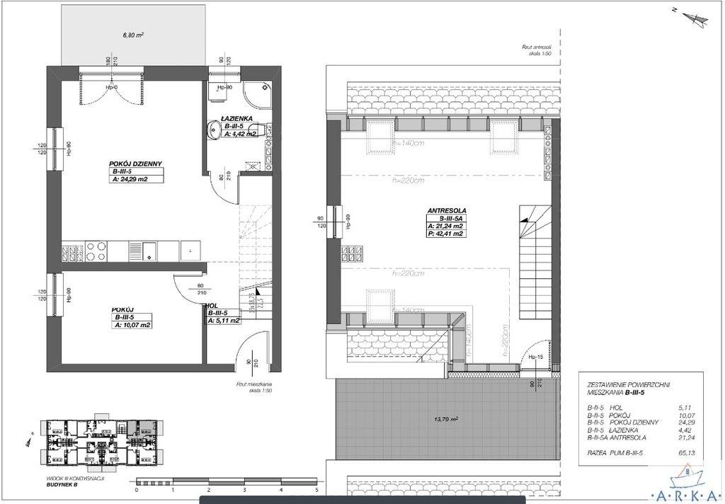 Mieszkanie trzypokojowe na sprzedaż Międzywodzie  65m2 Foto 2