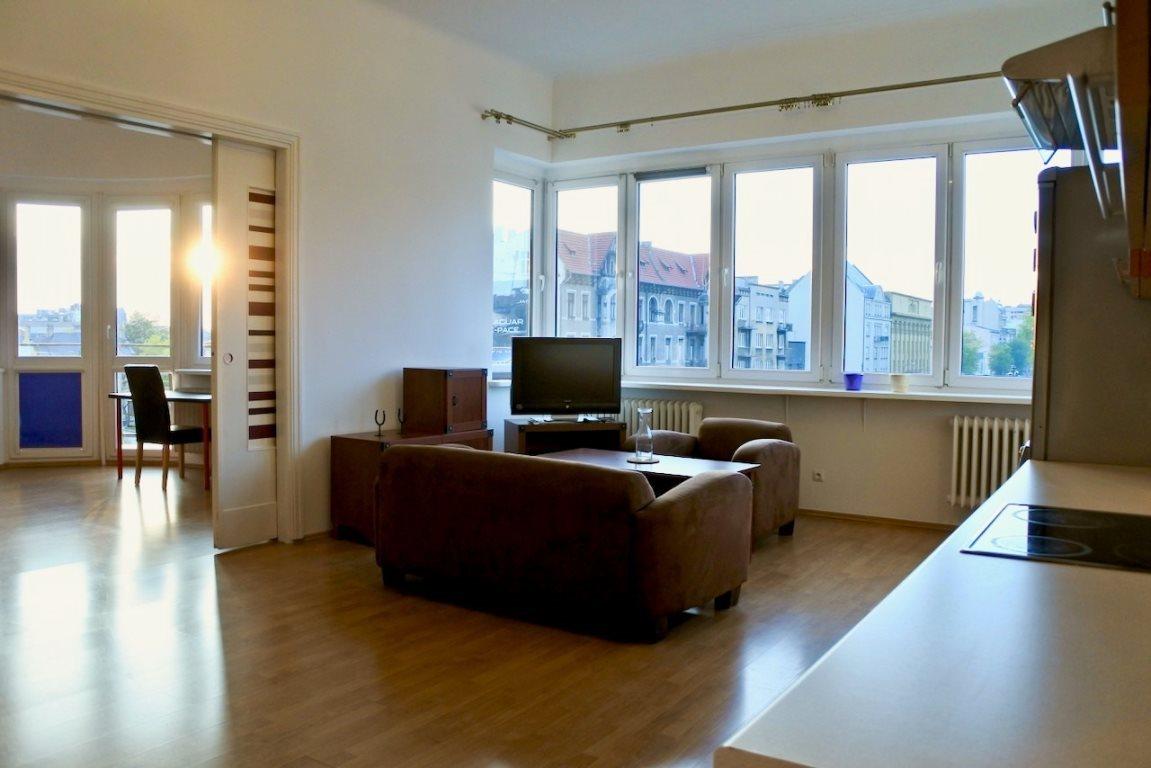 Mieszkanie trzypokojowe na wynajem Łódź, Śródmieście, al. Mickiewicza  85m2 Foto 1