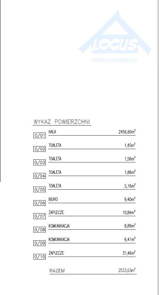 Lokal użytkowy na wynajem Warszawa, Białołęka, Żerań  2533m2 Foto 5