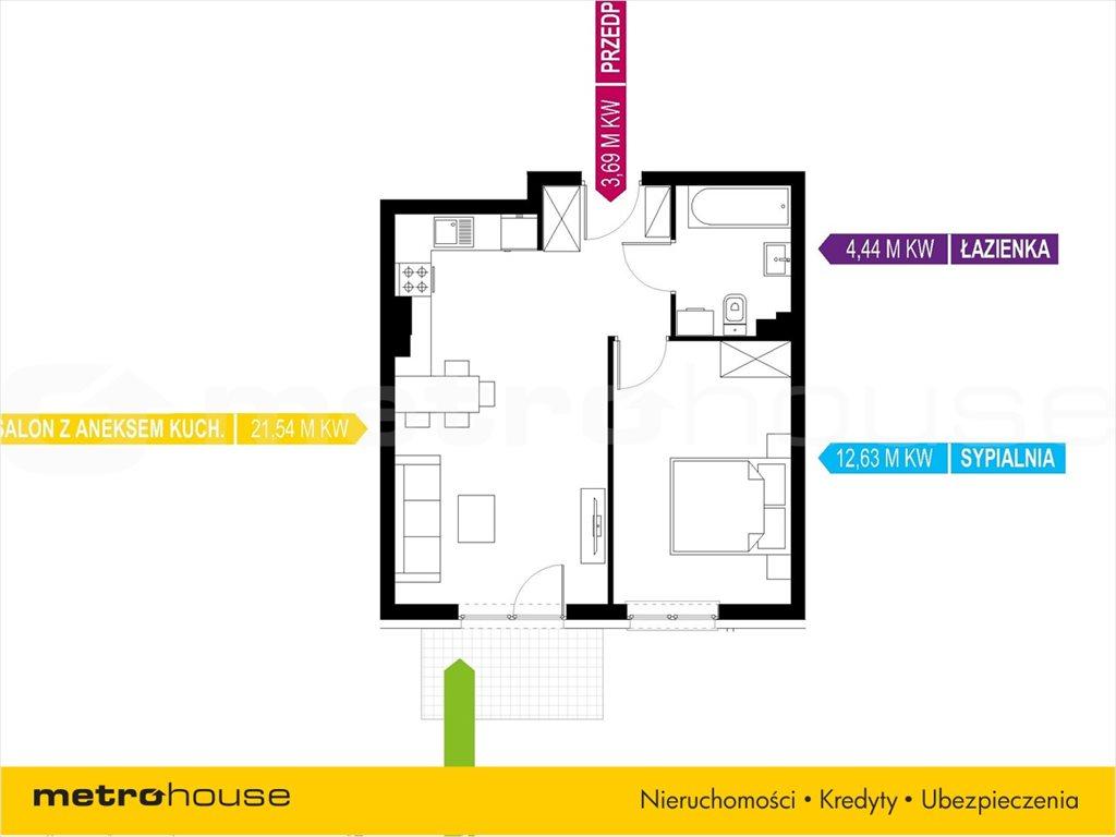 Mieszkanie dwupokojowe na sprzedaż Mikołów, Mikołów, Storczyków  42m2 Foto 5