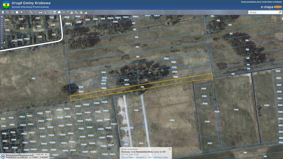 Działka rolna na sprzedaż Dębki  5100m2 Foto 12