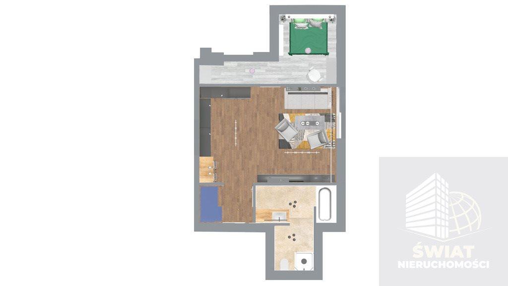 Mieszkanie dwupokojowe na sprzedaż Gryfino  48m2 Foto 4