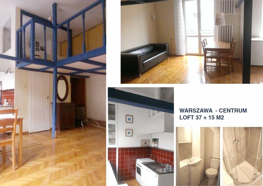 Mieszkanie dwupokojowe na wynajem Warszawa, Śródmieście, Wilcza 29  52m2 Foto 1