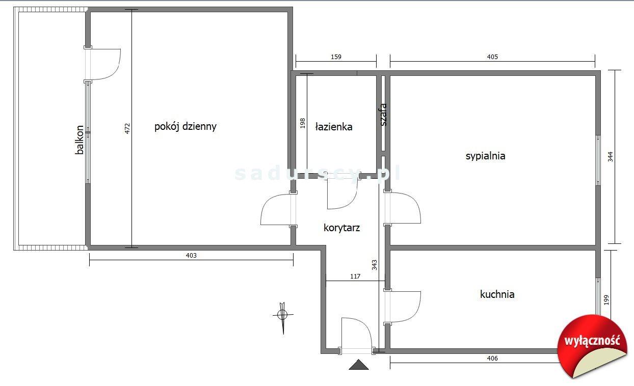 Mieszkanie dwupokojowe na sprzedaż Kraków, Bronowice, Bronowice Małe, Kaspra Żelechowskiego  50m2 Foto 3