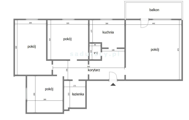 Mieszkanie czteropokojowe  na sprzedaż Kraków, Mistrzejowice, Osiedle Mistrzejowice Nowe, os. Mistrzejowice  73m2 Foto 3