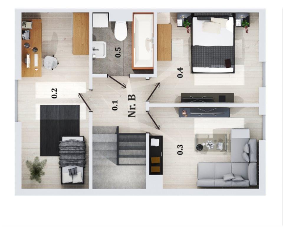 Dom na sprzedaż Lubin  94m2 Foto 3