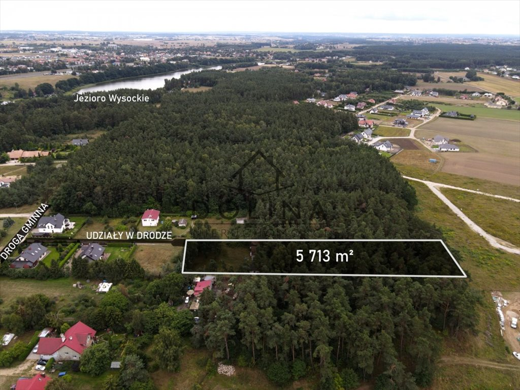 Działka budowlana na sprzedaż Gdańsk, Osowa  5713m2 Foto 2