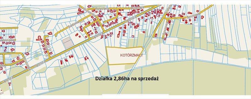 Działka inwestycyjna na sprzedaż Kotórz Mały, Opolska  28600m2 Foto 1