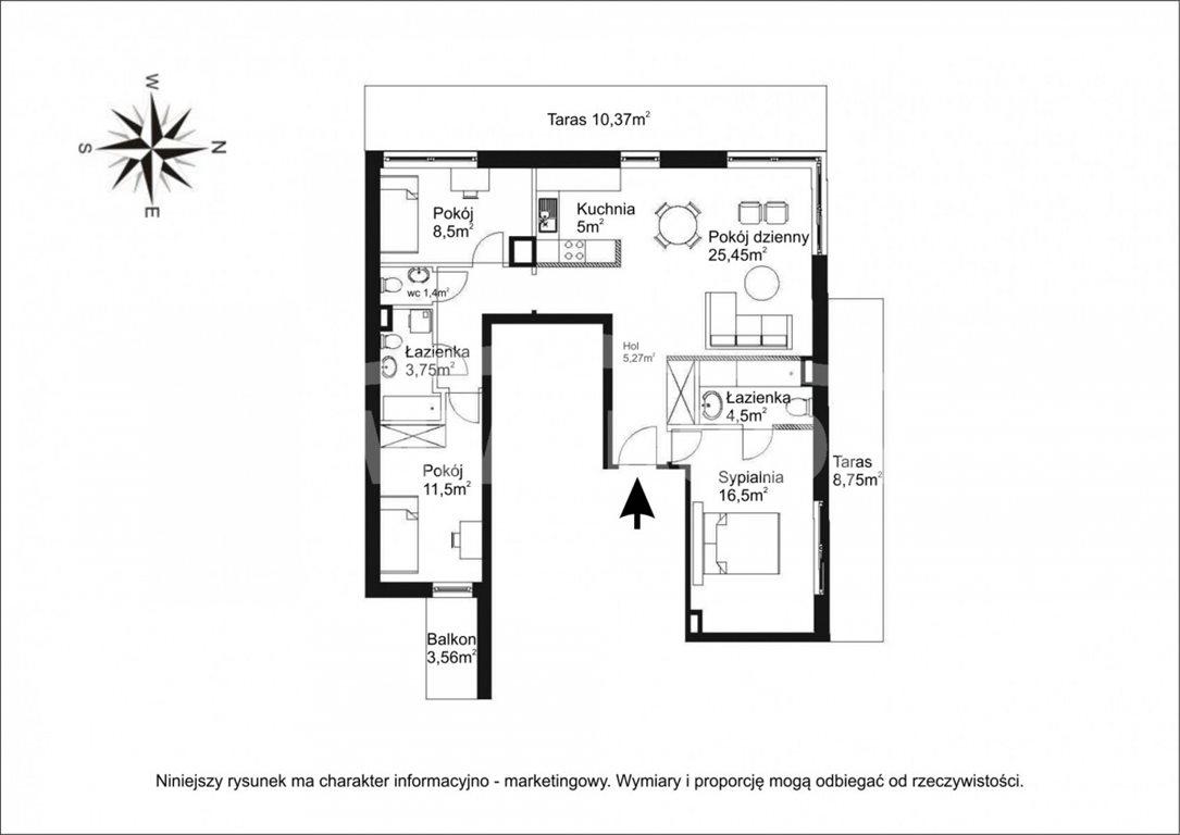 Mieszkanie czteropokojowe  na sprzedaż Warszawa, Mokotów, Górska  94m2 Foto 6