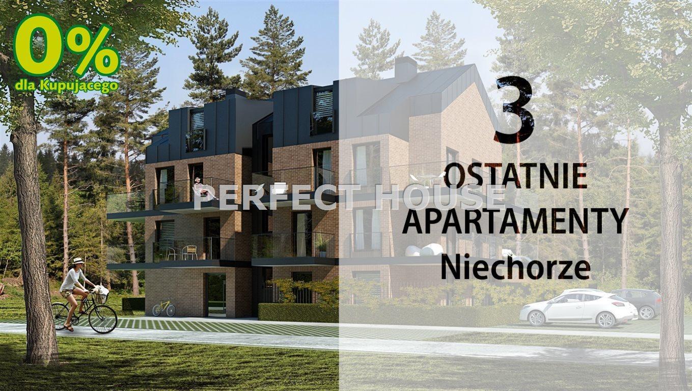 Mieszkanie dwupokojowe na sprzedaż Niechorze  36m2 Foto 1