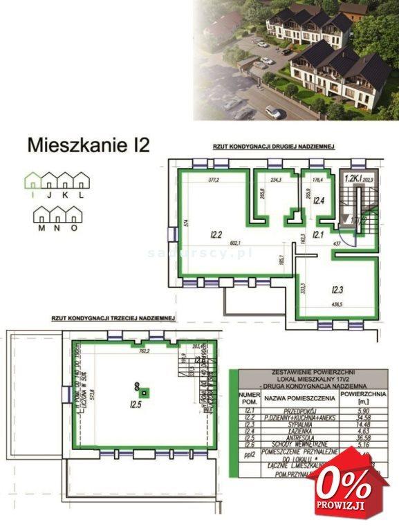 Mieszkanie czteropokojowe  na sprzedaż Wieliczka, Wieliczka  103m2 Foto 2