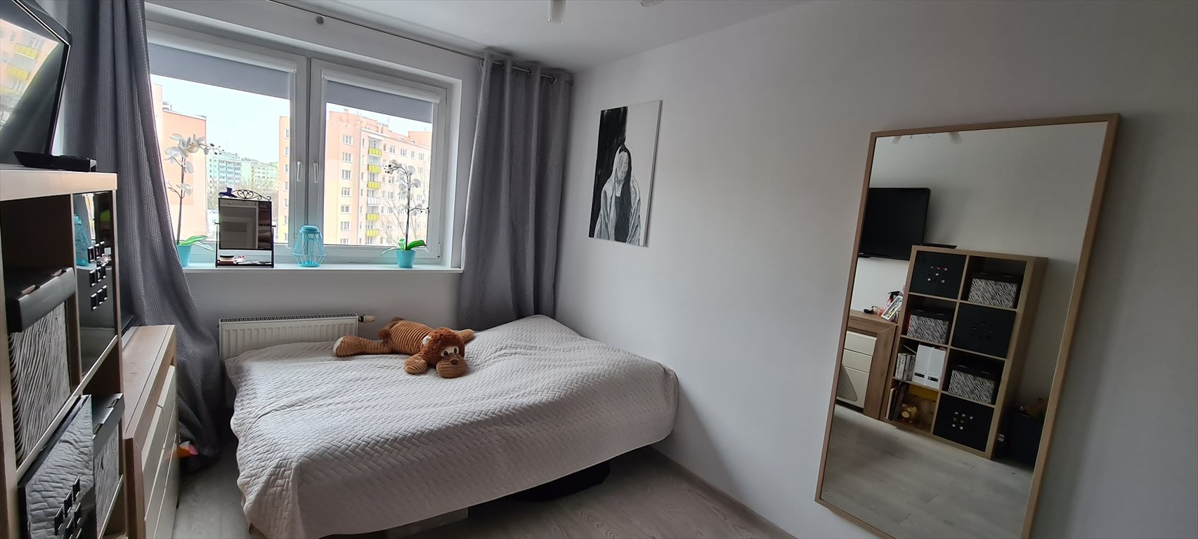 Mieszkanie trzypokojowe na sprzedaż Warszawa, Bielany, Esej  74m2 Foto 4