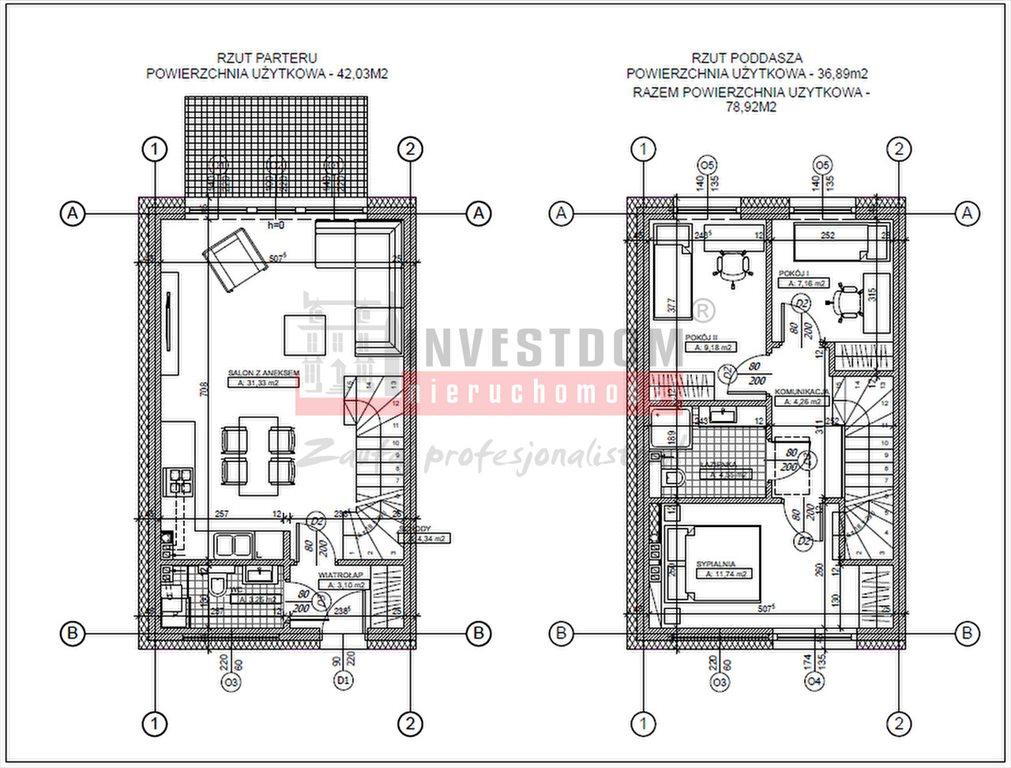 Mieszkanie czteropokojowe  na sprzedaż Górki  79m2 Foto 7