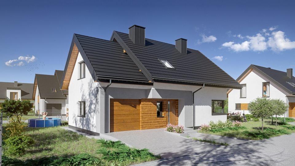 Dom na sprzedaż Krasne  100m2 Foto 1