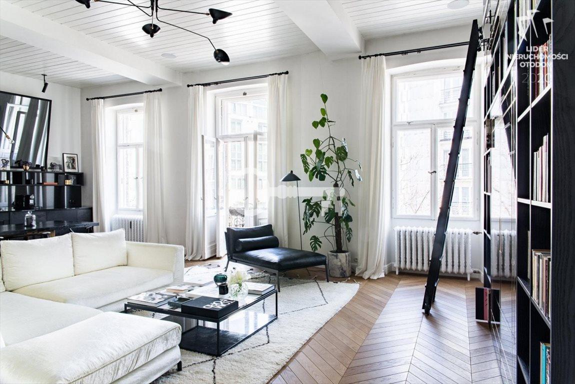 Luksusowe mieszkanie dwupokojowe na sprzedaż Warszawa, Śródmieście, Wiejska  90m2 Foto 1