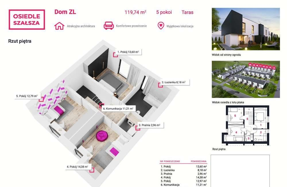 Dom na sprzedaż Gliwice, Szałsza, Ptasia  145m2 Foto 3