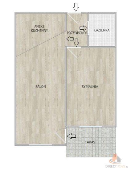 Mieszkanie dwupokojowe na sprzedaż Mysłowice, Katowicka  44m2 Foto 9