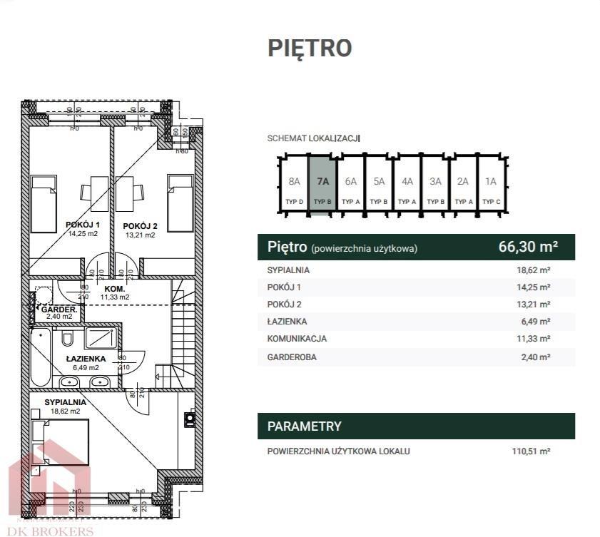 Dom na sprzedaż Rzeszów, Budziwój, Senatorska  127m2 Foto 3
