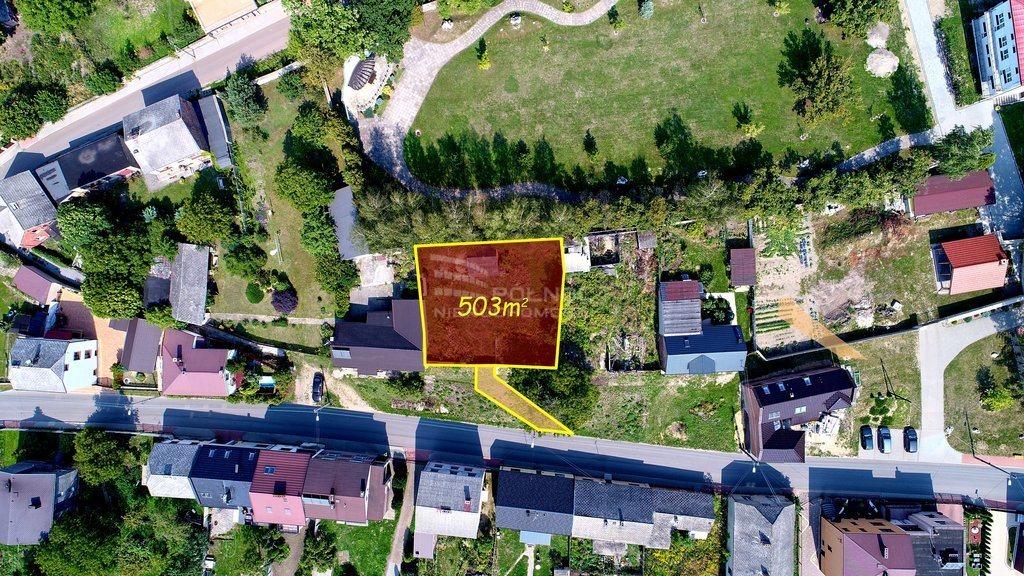 Działka budowlana na sprzedaż Myszków, Mrzygłód, Królowej Jadwigi  503m2 Foto 4
