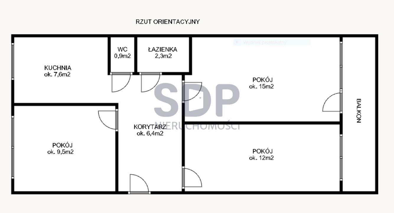 Mieszkanie trzypokojowe na sprzedaż Wrocław, Fabryczna, Popowice, ok. Legnickiej  54m2 Foto 8