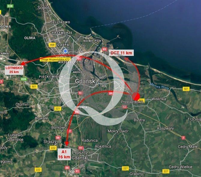 Działka inwestycyjna na sprzedaż Gdańsk, Rudniki  16298m2 Foto 1