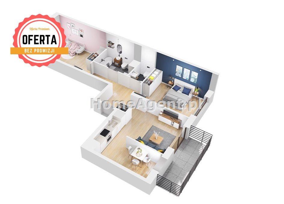 Mieszkanie dwupokojowe na sprzedaż Sosnowiec, Klimontów, Klimontowska  34m2 Foto 6