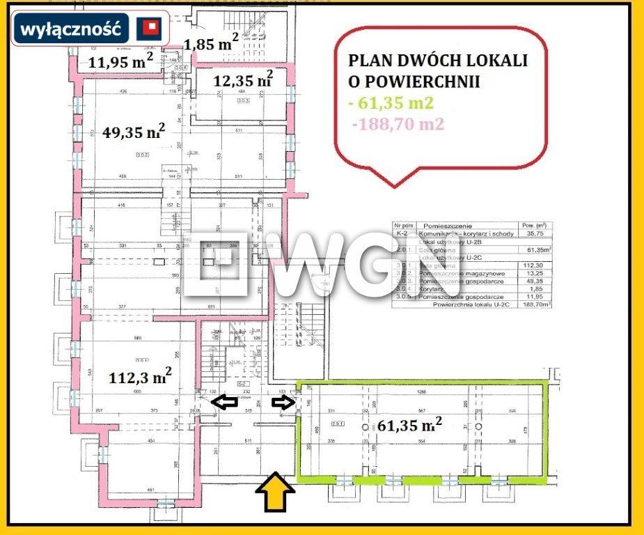 Lokal użytkowy na wynajem Ełk, Centrum  61m2 Foto 10