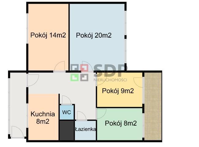 Mieszkanie czteropokojowe  na sprzedaż Wrocław, Śródmieście, Śródmieście, Wygodna  76m2 Foto 2