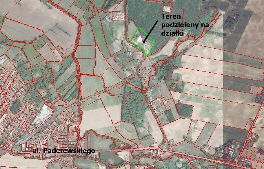 Działka budowlana na sprzedaż Lisie Kąty  1719m2 Foto 3