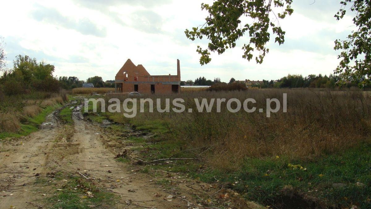 Działka budowlana na sprzedaż Domasław  1170m2 Foto 1