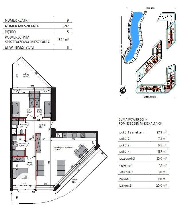 Mieszkanie czteropokojowe  na sprzedaż Bydgoszcz, Szwederowo, Piękna  85m2 Foto 7