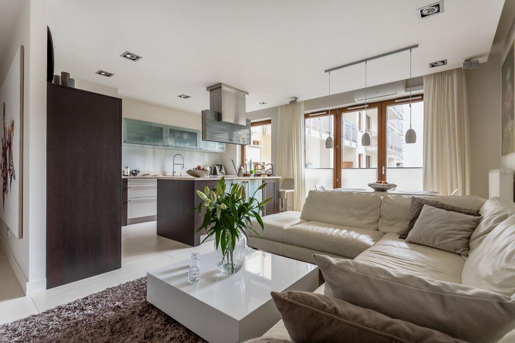 Luksusowe mieszkanie trzypokojowe na wynajem Warszawa, Śródmieście, Sienna  105m2 Foto 1