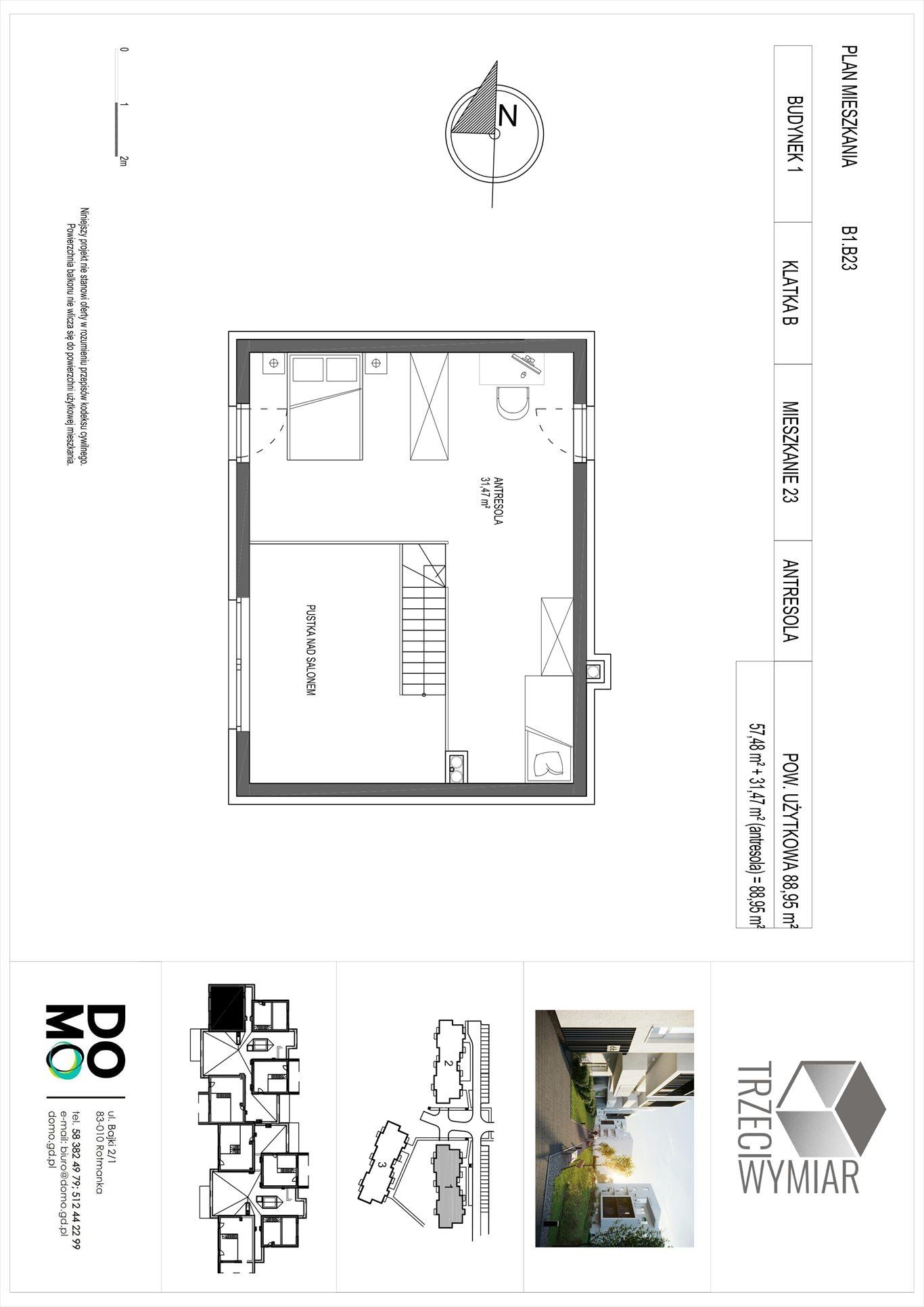 Mieszkanie czteropokojowe  na sprzedaż Pruszcz Gdański, Rotmanka, Zaczarowana  89m2 Foto 3