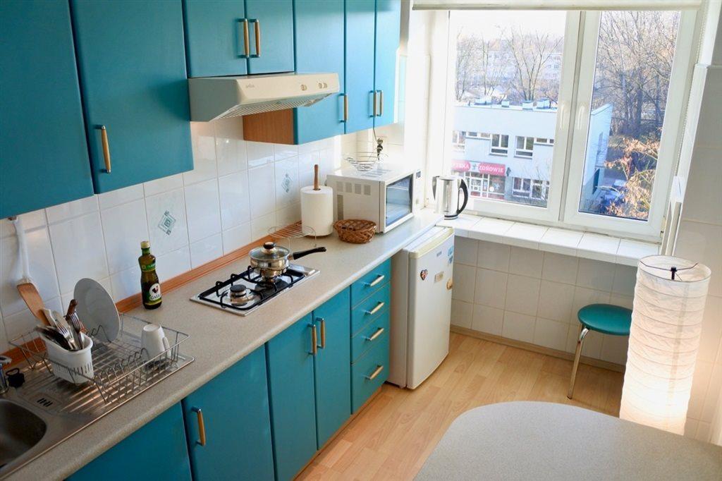 Mieszkanie dwupokojowe na wynajem Łódź, Górna, Nowe Rokicie, Cieszkowskiego  42m2 Foto 6