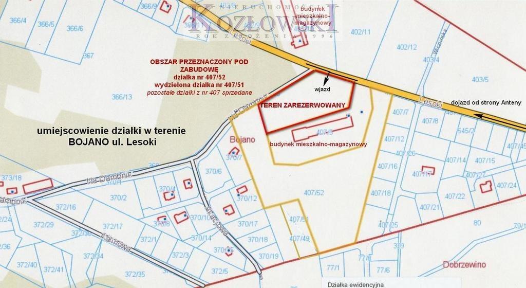 Działka komercyjna na sprzedaż Bojano, Lesoki  5000m2 Foto 5