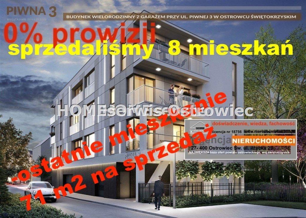 Mieszkanie trzypokojowe na sprzedaż Ostrowiec Świętokrzyski, Centrum  71m2 Foto 2