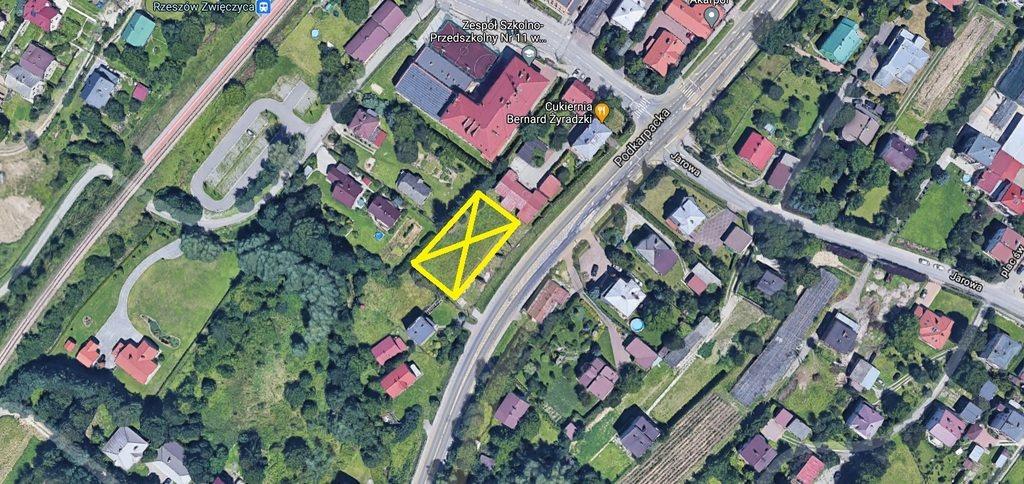 Działka inna pod dzierżawę Rzeszów, Podkarpacka  1300m2 Foto 1