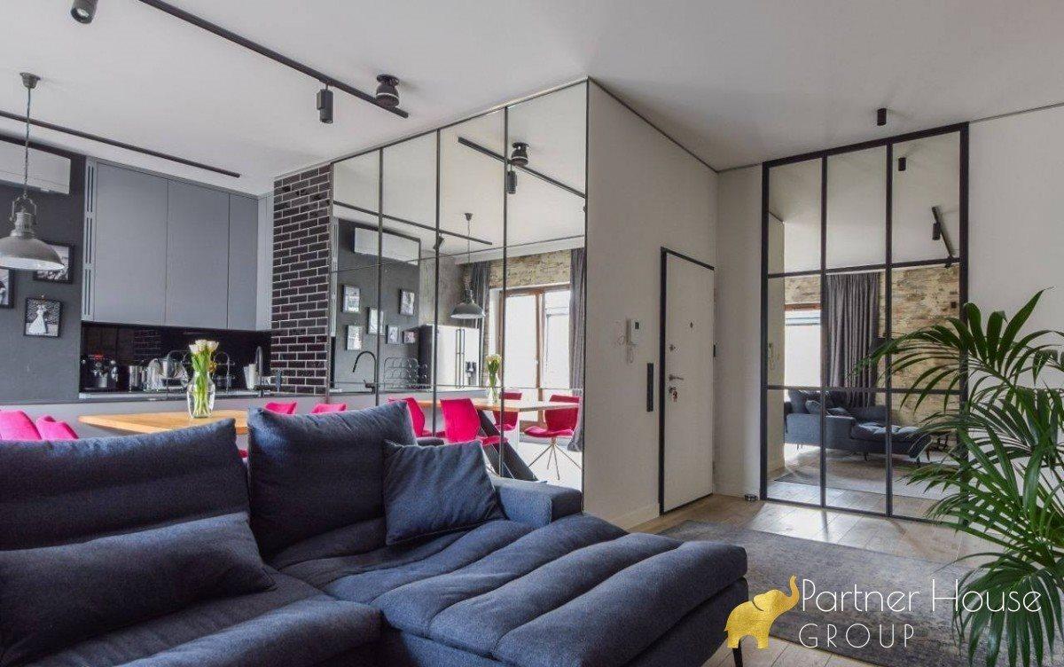 Mieszkanie czteropokojowe  na wynajem Warszawa, Śródmieście Powiśle, Topiel  100m2 Foto 3