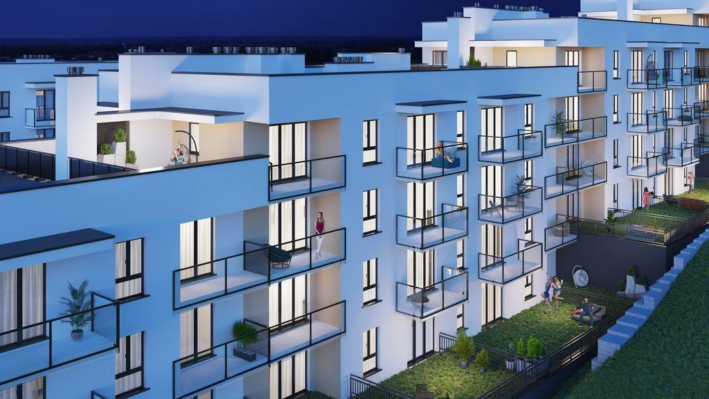 Mieszkanie dwupokojowe na sprzedaż Rzeszów, Bałtycka  36m2 Foto 3
