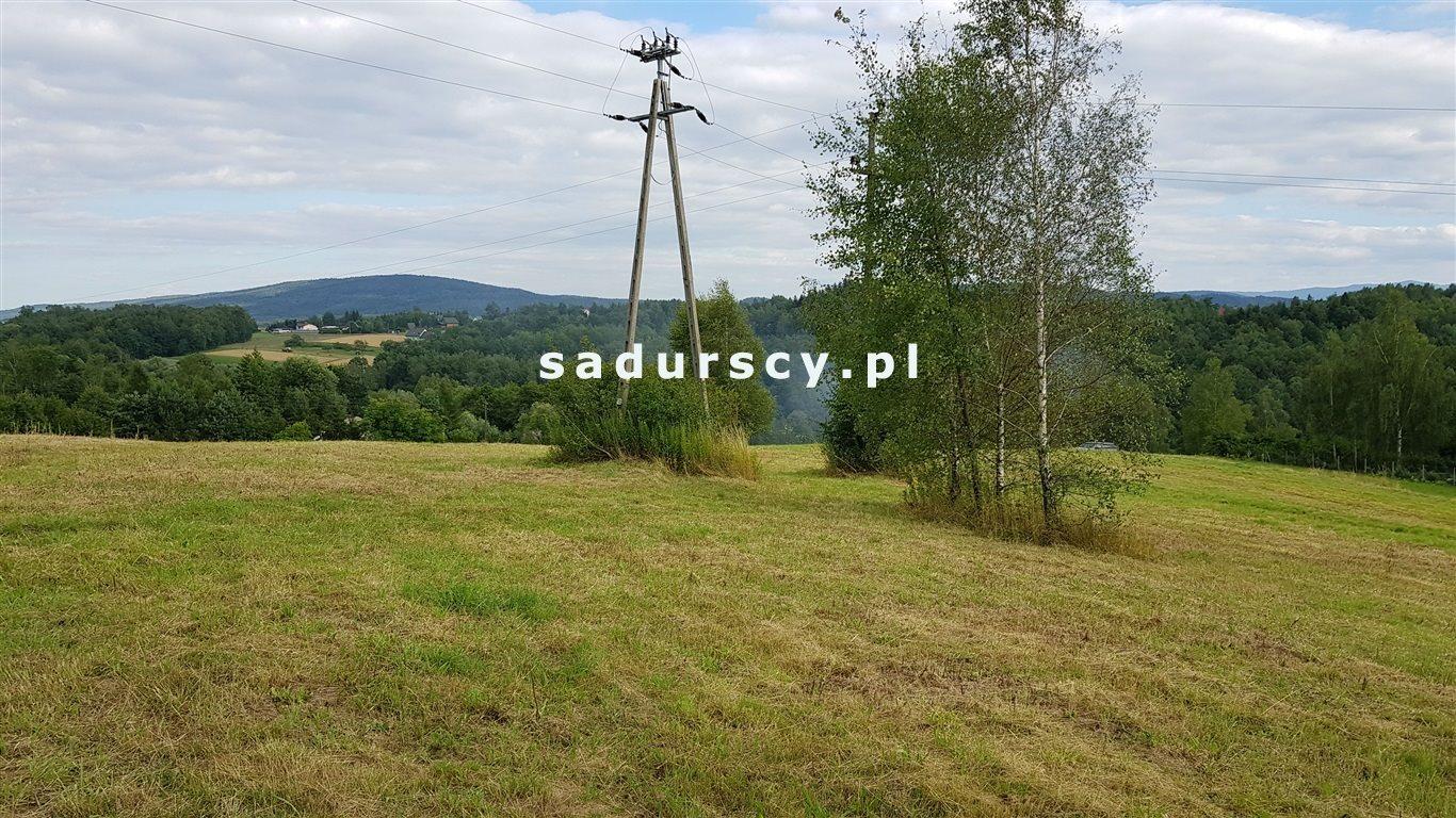 Działka budowlana na sprzedaż Łękawica  1335m2 Foto 2