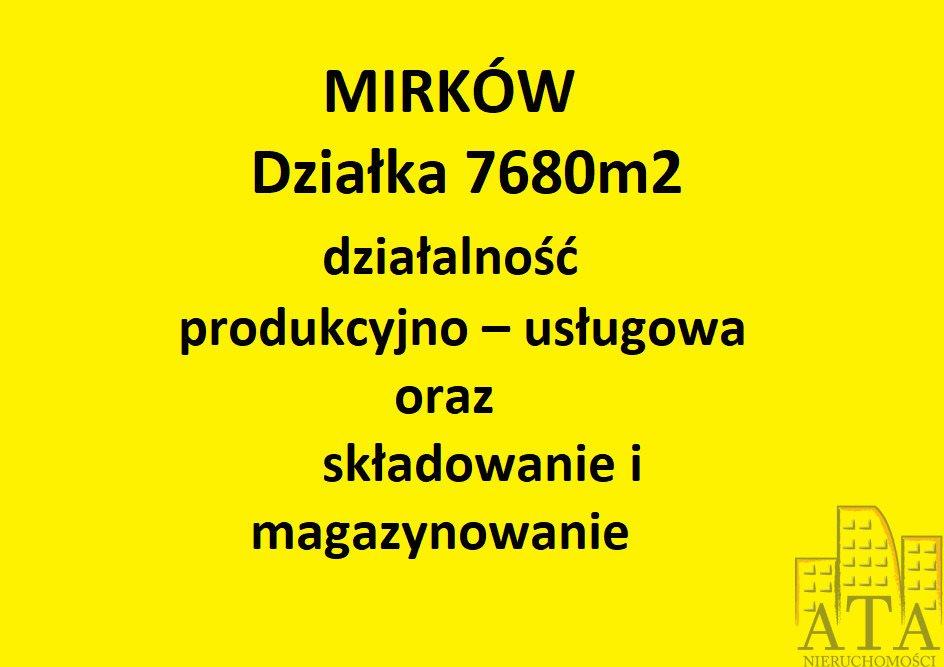 Działka inna na sprzedaż Mirków  7680m2 Foto 2