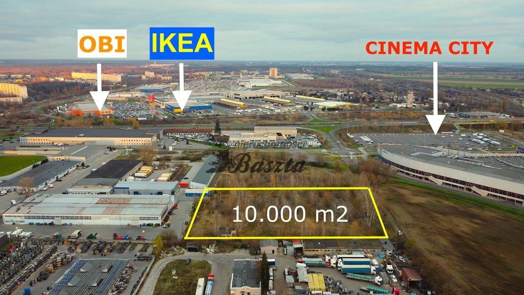 Działka inwestycyjna na sprzedaż Poznań  10464m2 Foto 1