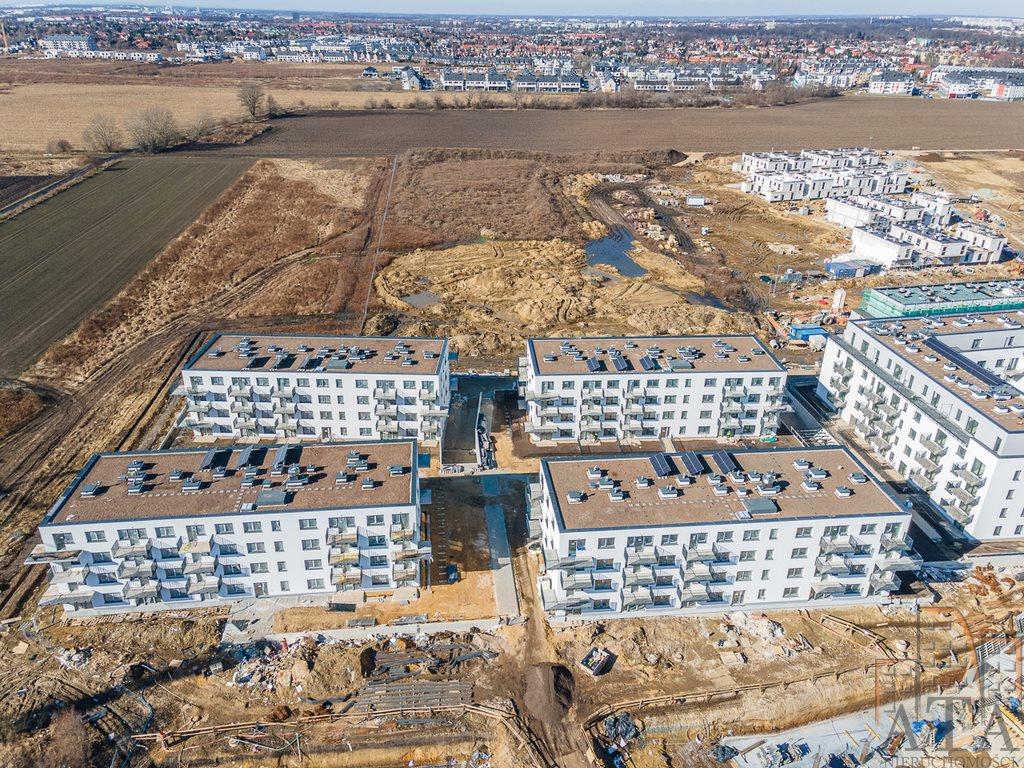 Mieszkanie dwupokojowe na sprzedaż Wrocław, Jagodno, Jagodno, Klasztorna  40m2 Foto 9
