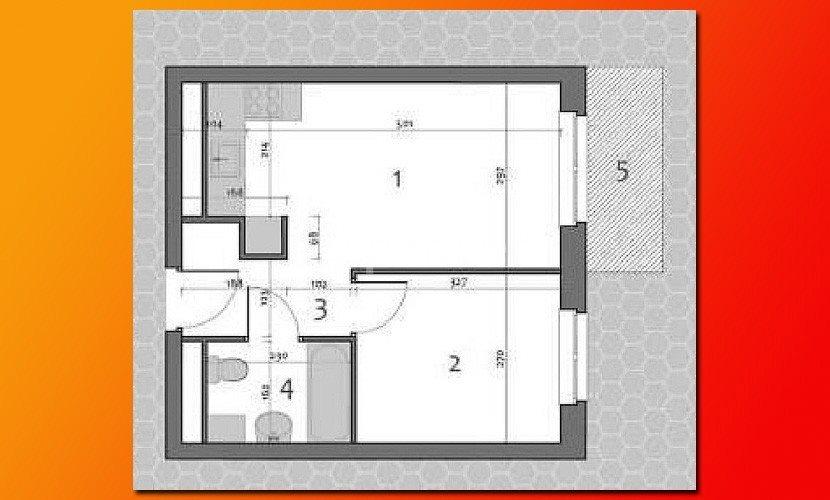 Mieszkanie dwupokojowe na sprzedaż Poznań  33m2 Foto 1