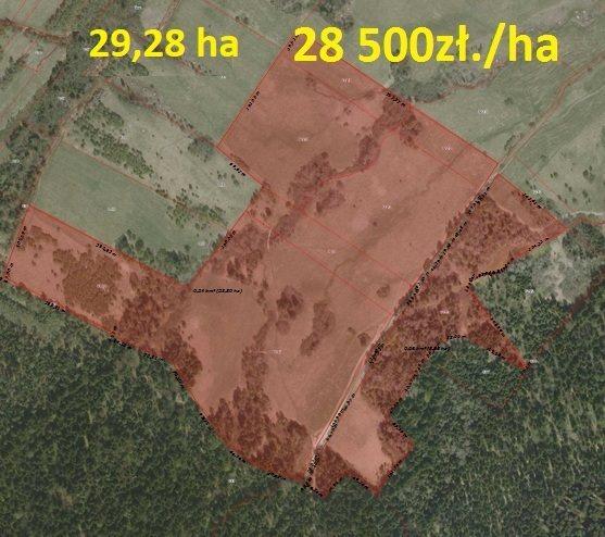Działka rolna na sprzedaż Bandrów Narodowy  520600m2 Foto 4