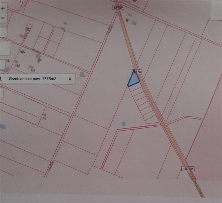 Działka budowlana na sprzedaż Grzebienisko, Szamotulska  1775m2 Foto 2