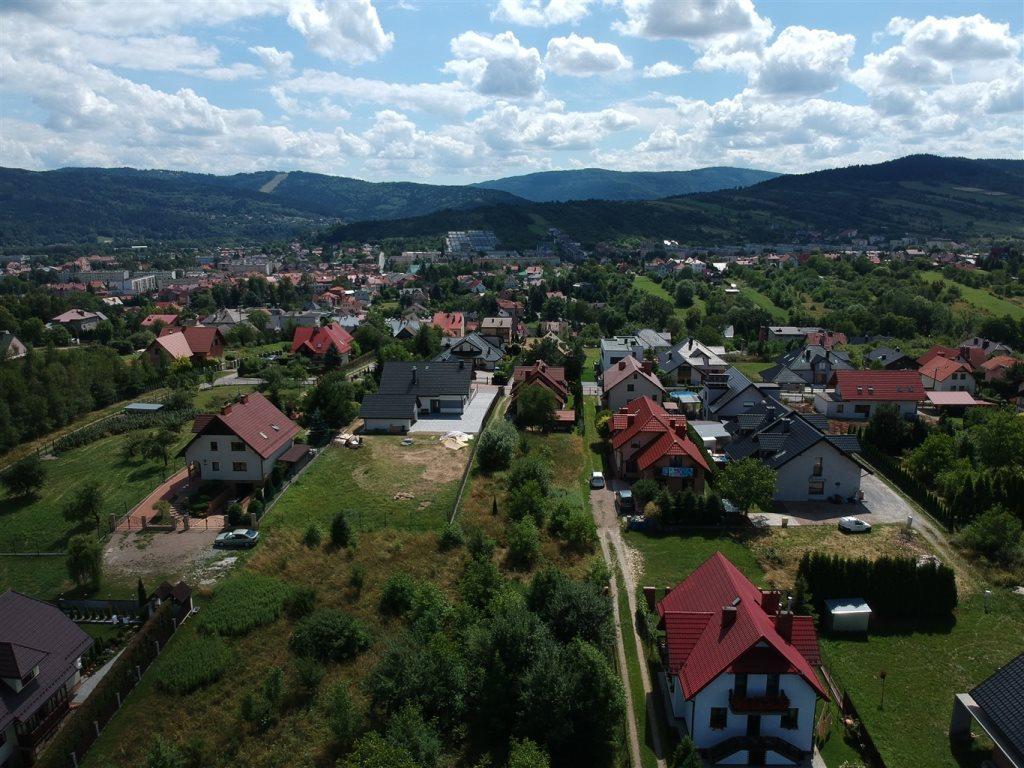 Działka budowlana na sprzedaż Myślenice  871m2 Foto 1
